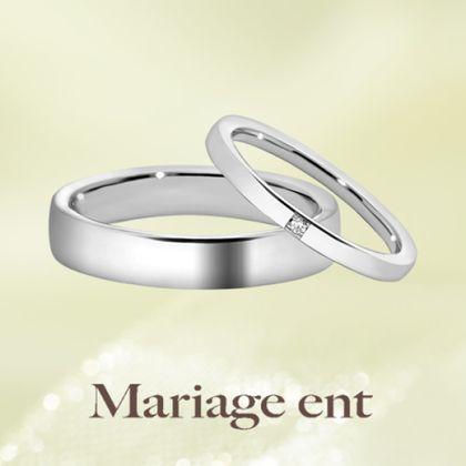 【Mariage ent(マリアージュエント)】着け心地までこだわった王道マリッジ|Purete(ピュルテ:純粋)ミルグレインアレンジ