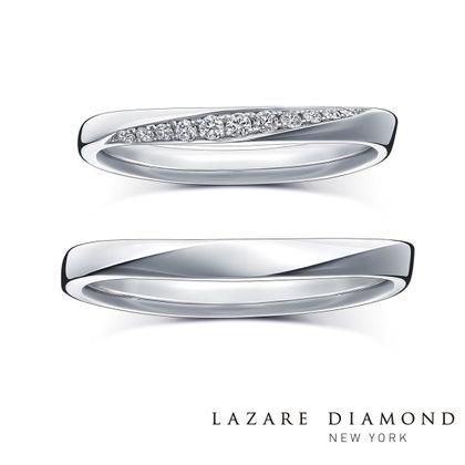 【ラザール ダイヤモンド(LAZARE DIAMOND)】【エコー】響きあい深まるふたりの愛をかたちに。