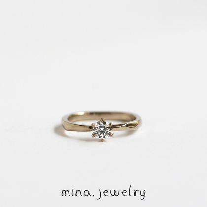 【mina.jewelry(ミナジュエリー)】|mina.jewelry|ブリリアントカットダイヤモンド