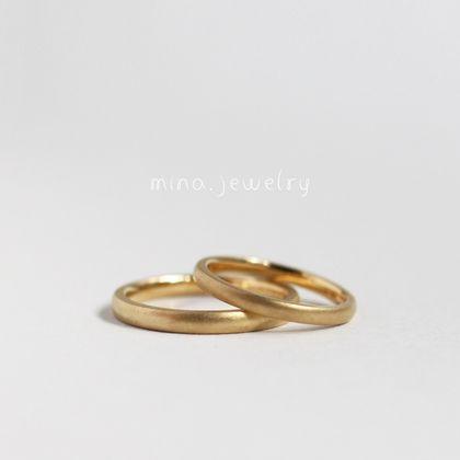 【mina.jewelry(ミナジュエリー)】さりげなく輝くリング