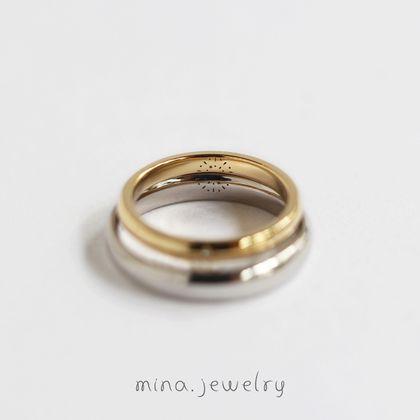 【mina.jewelry(ミナジュエリー)】花火が打ち上がったマリッジリング