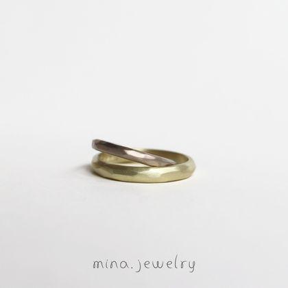 【mina.jewelry(ミナジュエリー)】ふわふわのマリッジリング