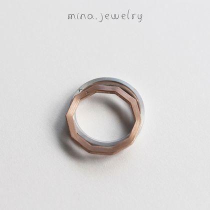 【mina.jewelry(ミナジュエリー)】お二人だけが知るお揃いのマリッジリング