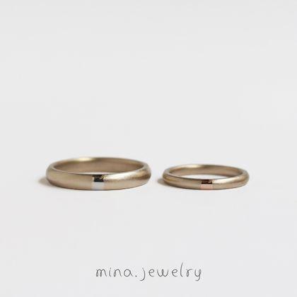【mina.jewelry(ミナジュエリー)】ワンポイントの魅力が詰まったマリッジリング