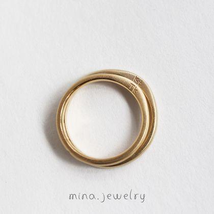 【mina.jewelry(ミナジュエリー)】シンプルな中にも意味のあるマリッジリング