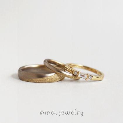 【mina.jewelry(ミナジュエリー)】全体のバランスを考えたリング