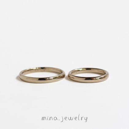 【mina.jewelry(ミナジュエリー)】不思議なマリッジリング
