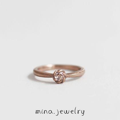 【mina.jewelry(ミナジュエリー)】|mina.jewelry| ローズカットダイヤモンド