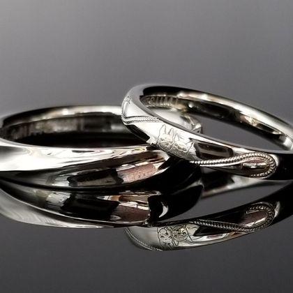 【TANZO(タンゾウ)】お二人の好みに合わせてお造りしたご結婚指輪
