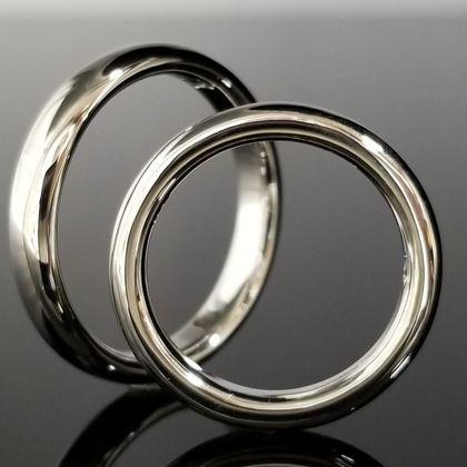 【TANZO(タンゾウ)】こだわりの丸みを出しフルオーダーメイド結婚指輪