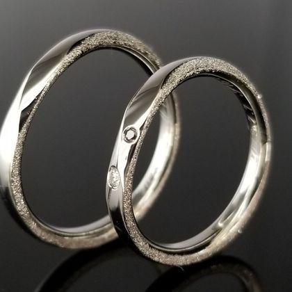 【TANZO(タンゾウ)】スターダストが美しい鍛造指輪