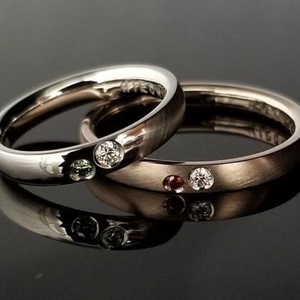 【TANZO(タンゾウ)】こだわりのダイヤが輝く、鍛造オリジナルマリッジリング