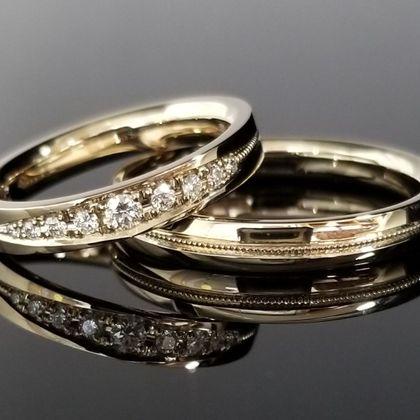 【TANZO(タンゾウ)】ダイヤモンドをオーダーメイドした鍛造の結婚指輪