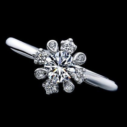 【エクセルコダイヤモンド(EXELCO DIAMOND)】《Beau Chateau~ビュー シャトー~ ROUND》
