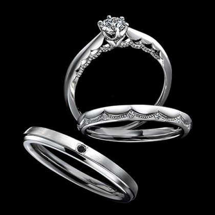 【エクセルコダイヤモンド(EXELCO DIAMOND)】《Le voile~ル ヴォワール~》