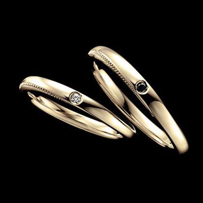 【エクセルコダイヤモンド(EXELCO DIAMOND)】《Coronet Fine~コロネット フィーヌ~ YG》