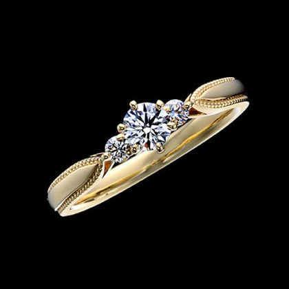 【エクセルコダイヤモンド(EXELCO DIAMOND)】《Elisabeth~エリザベート~ YG》