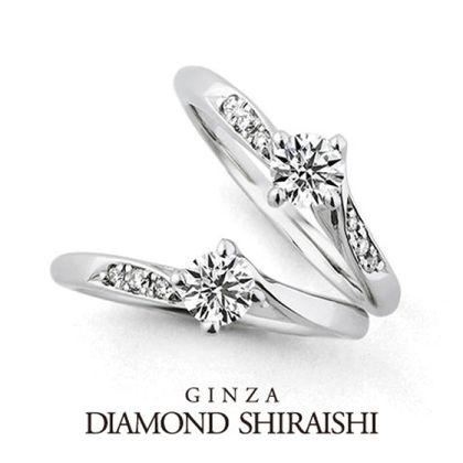 【銀座ダイヤモンドシライシ】Diamond Lily(ダイヤモンド リリー)メレ