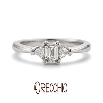 【ORECCHIO(オレッキオ)】【新作】<aman~アマン>婚約指輪 AE-1306