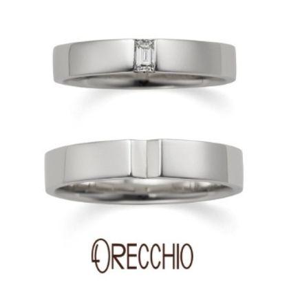 【ORECCHIO(オレッキオ)】<aman~アマン>AM-2305/AM-2306 幅広で重厚感のあるデザインは男性の指にもなじみやすい結婚指輪