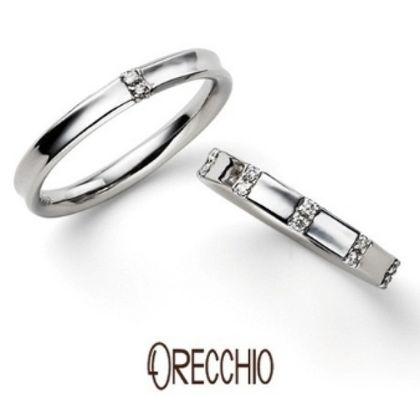 【ORECCHIO(オレッキオ)】<monaco~モナコ> MM-2007/MM2008 結婚指輪 薬指にフィットする内反りのデザインで抜群の着け心地