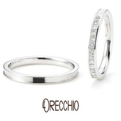 【ORECCHIO(オレッキオ)】<monaco~モナコ> MM-2011/MM-2012 メンズ、レディースともプリンセスカットの拘りリング