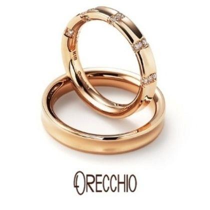 【ORECCHIO(オレッキオ)】<monaco~モナコ> MM-2001/MM-2002 程よいリング幅と内そりデザインで着け心地抜群の結婚指輪