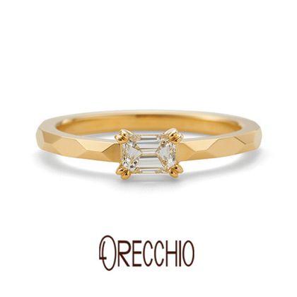 【ORECCHIO(オレッキオ)】【新作】<aman~アマン>婚約指輪 AE-1305