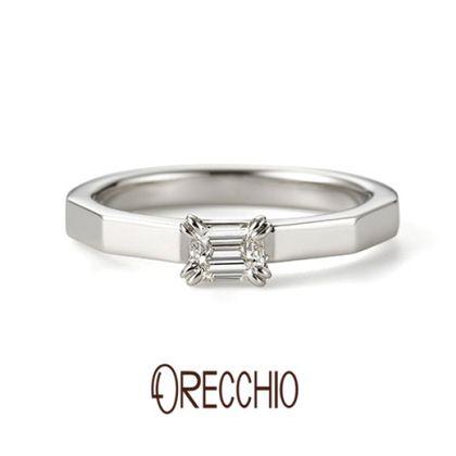 【ORECCHIO(オレッキオ)】<safari~サファリ>婚約指輪 FE-1205