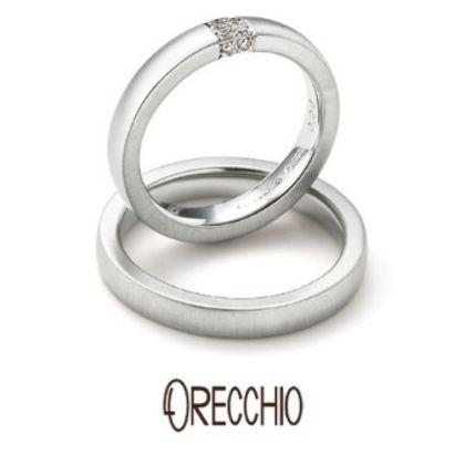 【ORECCHIO(オレッキオ)】<monaco~モナコ> MM-2003/MM-2004 適度なボリュームとダイヤモンドの輝きを楽しめる結婚指輪