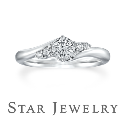 【STAR JEWELRY(スタージュエリー)】SIDE DIAMOND