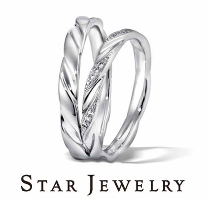 【STAR JEWELRY(スタージュエリー)】FEATHER