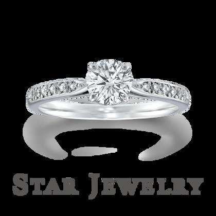 【STAR JEWELRY(スタージュエリー)】CROSSING STAR