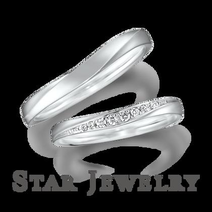 【STAR JEWELRY(スタージュエリー)】DIAMOND MARRIAGE RING