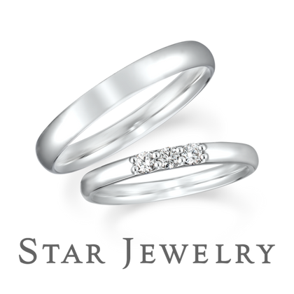 【STAR JEWELRY(スタージュエリー)】DIAMOND MARRIAGE RING