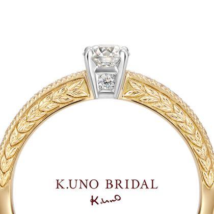 """【ケイウノ ブライダル(K.UNO BRIDAL)】Alloro""""classico""""‐アッローロ「クラシコ」‐"""