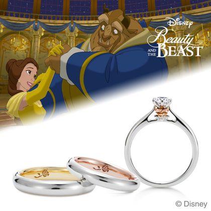 【ケイウノ ブライダル(K.UNO BRIDAL)】Disney / 美女と野獣 -The Enchanted Rose-