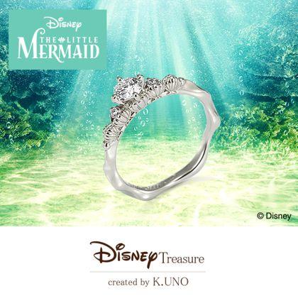 【ケイウノ ブライダル(K.UNO BRIDAL)】Disney / リトル・マーメイド