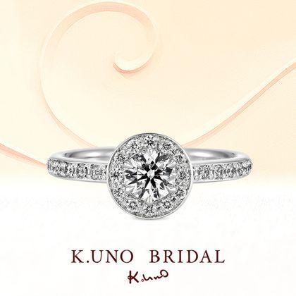 【ケイウノ ブライダル(K.UNO BRIDAL)】Flower Circle -フラワーサークル-
