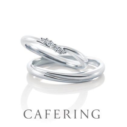 【CAFERING(カフェリング)】Bourgeon duo 愛と呼ばれる花