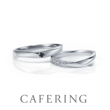 【CAFERING(カフェリング)】Noel 聖夜に流れる星(CAFERING BLACK)