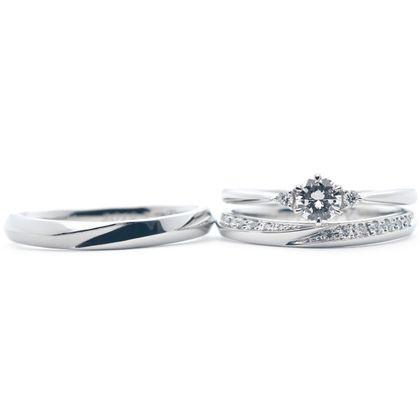【Hamri(ハムリ)】手作り結婚指輪・婚約指輪セット
