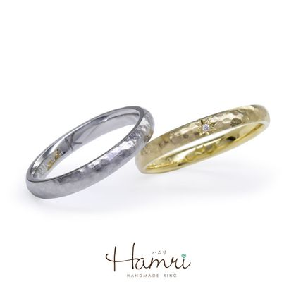 【Hamri(ハムリ)】アンティークの手作り結婚指輪