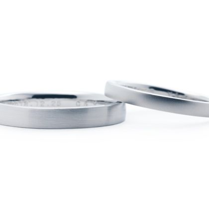 【Hamri(ハムリ)】手作り結婚指輪Y様&C様