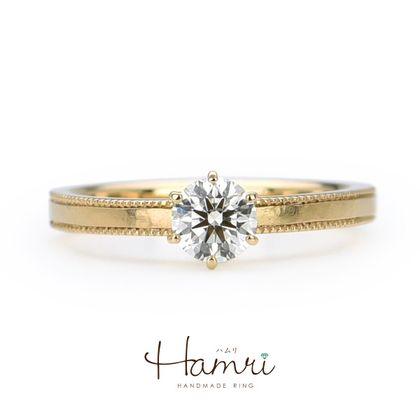 【Hamri(ハムリ)】アンティークの手作り婚約指輪