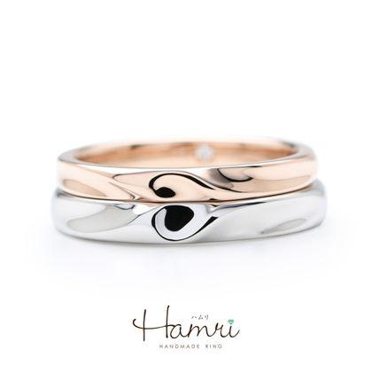 【Hamri(ハムリ)】ハートの手作り結婚指輪