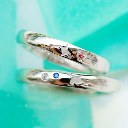 【Hamri(ハムリ)】プラチナの手作り結婚指輪