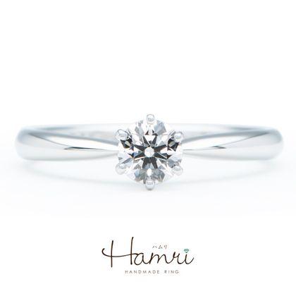 【Hamri(ハムリ)】シンプルな手作り婚約指輪