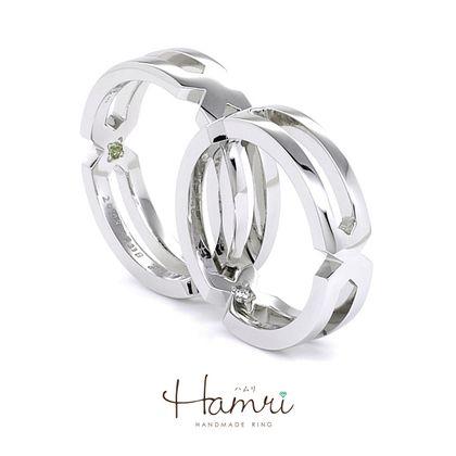 【Hamri(ハムリ)】知恵の輪リング