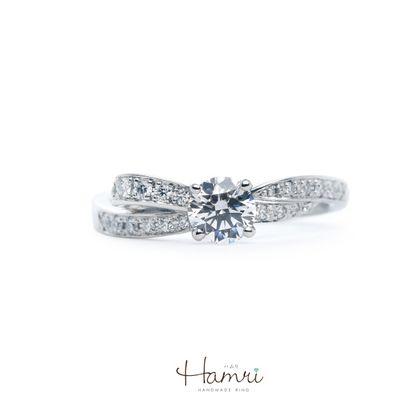 【Hamri(ハムリ)】エタニティの手作り婚約指輪